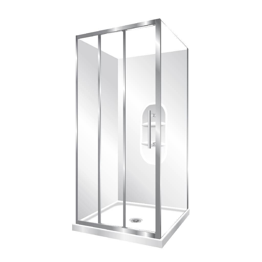 Aquero Corner 1000 Symphony Showers